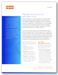 Learn how to achieve a complete SCM solution with Tripwire Enterprise.